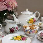 Vintage China Table Setting